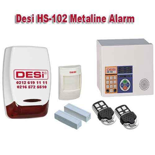 desi hs 102 metaline alarm sistemi - Desi Metaline Hs-102 WTKS