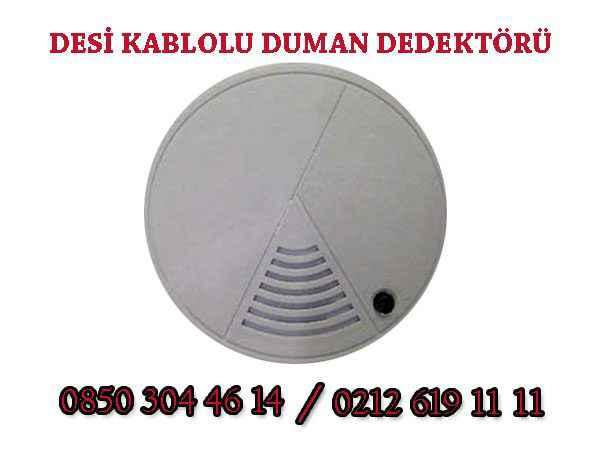 duman dedektotu 600x450 - Desi Kablolu Duman Dedektörü