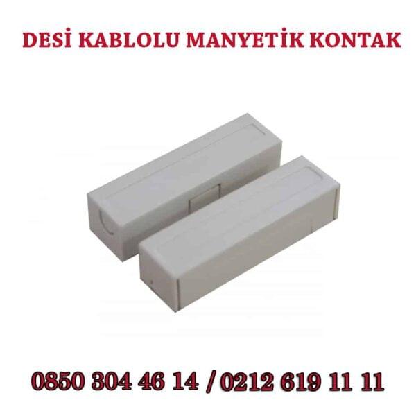 kablolu manyetik kontak 600x600 - Desi Kablolu Manyetik Kontak