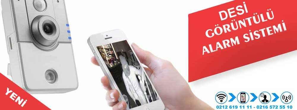 desi goruntulu alarm sistemi - Akıllı Telefonunuzdan yönetilen bir Akıllı Güvenlik Sistemi sizi bir Akıllı Ev Sahibi yapmaktadır.