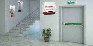 acil yangın kapısı alarm sistemi 300x150 - Acil Yangın Çıkış Kapısı Alarm Sistemleri