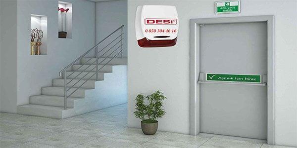 acil yangın kapısı alarm sistemi - Acil Yangın Çıkış Kapısı Alarm Sistemleri