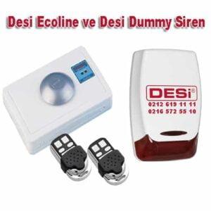 desi ecoline ve dummy siren 300x300 - Desi Ecoline ve Desi Dummy Sahte Siren