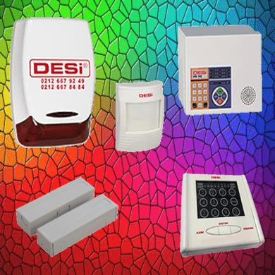metaline key - Desi Hs 102 WTKS Metaline Dokunmatik Şifre Panelli (Keypad) Alarm - Hırsız Alarm