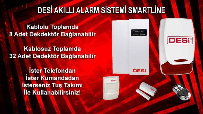 Kablolu Alarm Sistemi