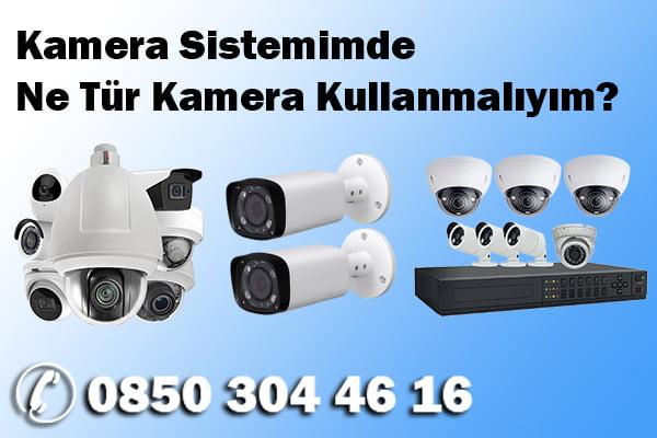 kamera ozellikleri - Kamera Sistemimde Ne Tür Kamera Kullanmalıyım?