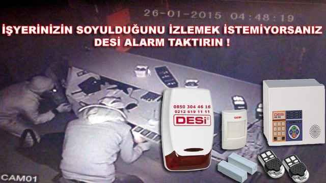 bayrampasa desi alarm ile guvende - Bayrampaşa Desi Alarm ile Güvende!