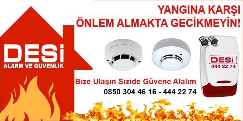 desi yangın alarm sistemi kurulumu - Yangın Alarm Kurulumu